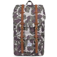 Backpack HERSCHEL - Little America Frog Camo-Tan Synthetic Leather (01858)