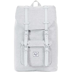 Backpack HERSCHEL - Little America Mid-Volume Light Grey Crosshatch-Grey Rubber (02041)