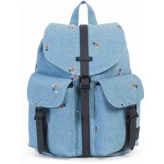 Backpack HERSCHEL - Dawson Womens Denim/Black Poly (01230)