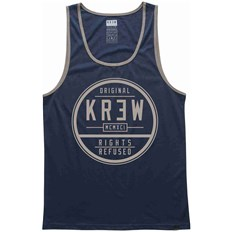 Tank Top KREW - Craft Seal Navy-Khaki (411)
