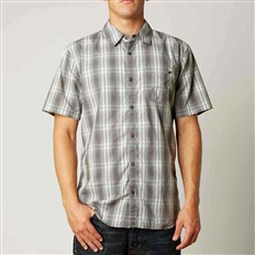 Shirt FOX - Foundation Woven Brown (103)