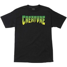 T-Shirt CREATURE - Logo Regular T-Shirt Black (7436)