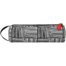 Pencil case MI-PAC - Pencil Case Scribble Check Monochrome/Red (259)