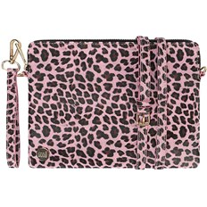 Handbag MI-PAC - Gold Clutch Cheetah Pink (A06)