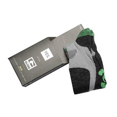 Socken GLOBE - Yes/Globe Pow Pow Sock  Grey/Lime (GRYLIM)