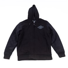 Sweatshirt METAL MULISHA - Drop Fleece Zip Hoo (BLK)
