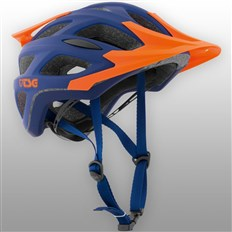 Helmet TSG - substance 3.0 solid color flat blue orange (372)