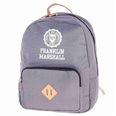 Backpack FRANKLIN & MARSHALL - Classic backpack - grey solid (04)