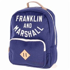 Backpack FRANKLIN & MARSHALL - Varsity backpack - dark blue solid (25)
