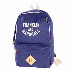 Backpack FRANKLIN & MARSHALL - Varsity mini backpack - dark blue solid (25)