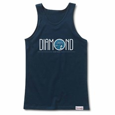 Tank Top DIAMOND - Deco Yacht Club Tank Navy (NVY)
