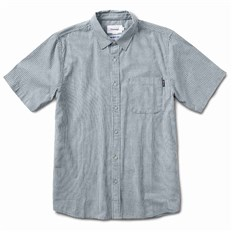 Shirt DIAMOND - Striped S/S Woven Blue (BLU)