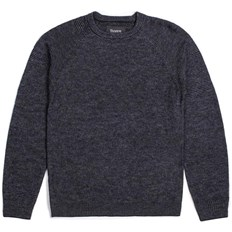 Cardigan BRIXTON - Anderson Sweater Grey/Black (GYBLK)