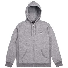 Sweatshirt BRIXTON - Bering Zip Hood Fleece Heather Grey (HTGRY)