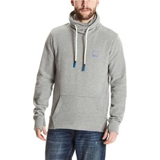 BENCH - Her. Sweat Funnel Winter Grey Marl (MA1054)