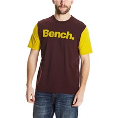 BENCH - Logo Tee Dark Burgundy (BU017)
