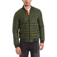 Jacket BENCH - Quilted Bomber Kombu Green (KH11469)