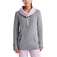 Cardigan BENCH - Her. Corp Open Neck Funnel Printed Winter Grey Marl (MA1054)
