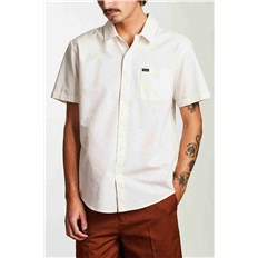 Shirt BRIXTON - Charter Oxford S/S Wvn Off White (OFFWH)