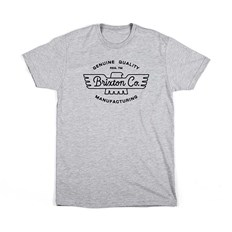 T-Shirt BRIXTON - Concord S/S Stnd Tee Heather Grey (HTGRY)