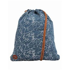 MI-PAC - Kit Bag Denim Squiggle Mid Blue White (005)
