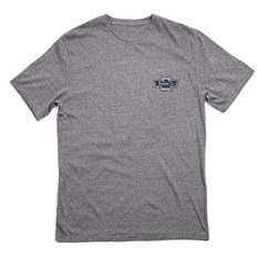 T-Shirt BRIXTON - Federal S/S Prem Tee Heather Grey (HTGRY)