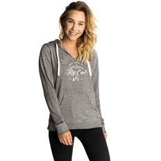 Sweatshirt RIP CURL - Nature Hooded Fleece Sharkskin  (9380)