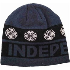 Beanie INDEPENDENT - Woven Crosses Denim Denim (DENIM)