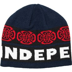 Beanie INDEPENDENT - Woven Crosses Beanie BlueWhite (BLUE-WHITE)