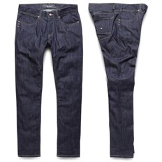 Pants KREW - K Sklim Taper Denim Raw Blue (RAW)
