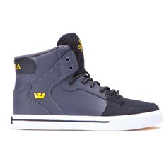 Shoes SUPRA - Kids Vaider Grey/Black (GBK)