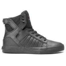 Shoes SUPRA - Kids Skytop Red Carpet Series-Black (RCS)