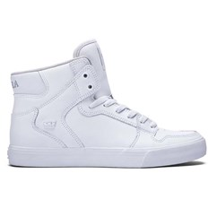 Shoes SUPRA - Kids Vaider White- White (WHT)
