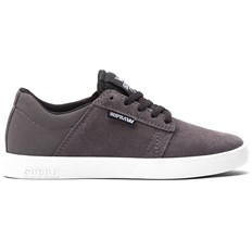 Shoes SUPRA - Kids Westway Lowt Charcoal/B (CBL)