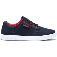 Shoes SUPRA - Kids Westway Black/Red-White (BKR)