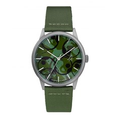 Watch CHPO - Lucy Silver/Army Green (SILVER/ARMY GREEN)