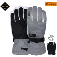 Gloves POW - Ws Crescent Gtx Long Glove Ash (AS)