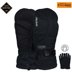 Gloves POW - Ws Crescent Gtx Long Mitt Black (BK)