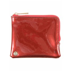 Wallet MI-PAC - Coin Holder Patent Red (002)