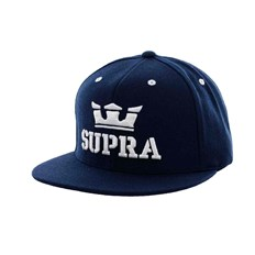 Caps SUPRA - Above Snap Navy/White (NWT)