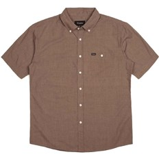 Shirt BRIXTON - Central Heather Brown 0423 (0423)