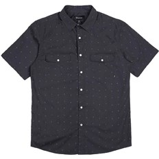 Shirt BRIXTON - Wayne Washed Black 0141 (0141)