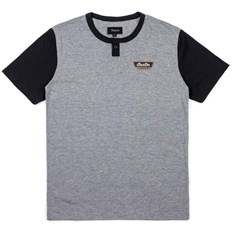 Shirt BRIXTON - Normandie Heather Grey/Black (HTGBK)