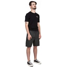 Shorts BRIXTON - Transport 20 Cargo Short Washed Black (WABLK)