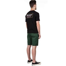 Shorts BRIXTON - Toil Ii Short Heather Chive (HTCHV)
