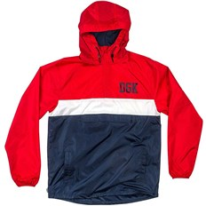 Jacket DGK - Blocked Jacket Red (RED)