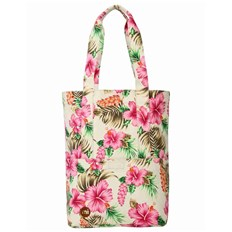 Handbag MI-PAC - Tote Tropical Hibiscus Natural (007)