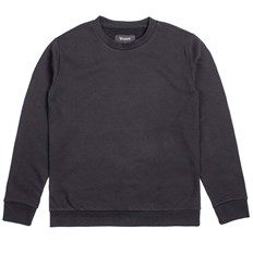 Sweatshirt BRIXTON - Vela Crew Fleece Black (BLACK)