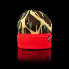 Beanie OFFICIAL - Giraffe Rain Red (000)