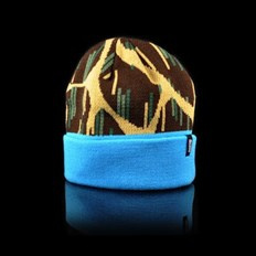 Beanie OFFICIAL - Giraffe Rain Blue (000)